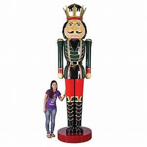 Massive 12 Foot Tall Nutcracker Statue - The Green Head