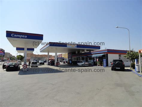 closet gas station alicante airport car hire where is the nearest gas station