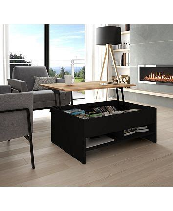 """We have lift top coffee tables, for some extra storage, square coffee tables, modern coffee tables, and glass if you're working with a small space, we have small coffee tables, and small round coffee tables. Bestar Small Space 37"""" Lift - Top Storage Coffee Table ..."""