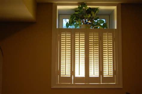 basement reno part   big fake window