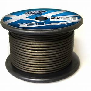Xs Flex Black 8awg Cable