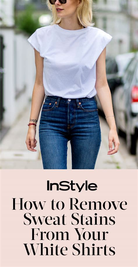 how to remove yellow armpit stains from your white shirts instyle