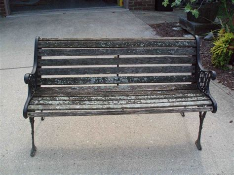 park bench for a new chapter diy restoring a park bench