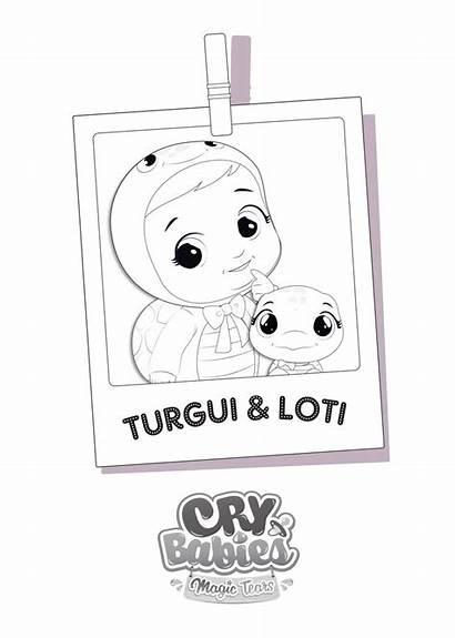 Cry Babies Tears Magic Colorear Colorir Pintar