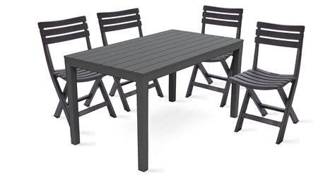 chaise de jardin plastique beautiful table de jardin pvc marron gallery awesome