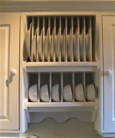 kitchen plate rack plans woodworking projects plans