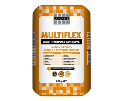 multiflex adhesive from laticrete