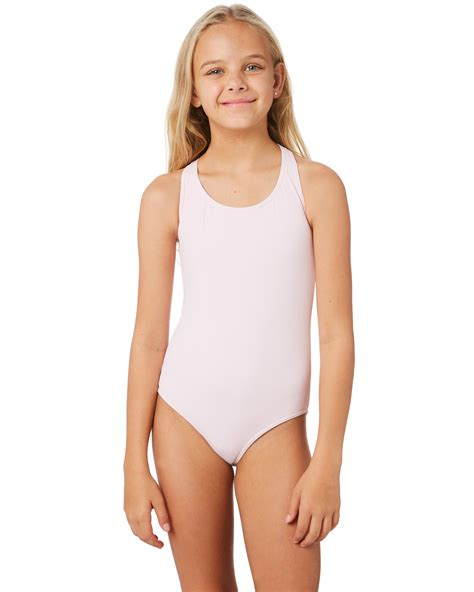 rip curl girls luxe rib onepiece teen lilac surfstitch