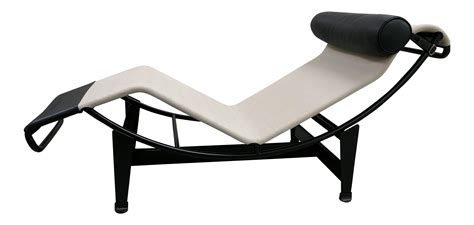 chaise le corbusier prix le corbusier designed lc4 chaise longue chairish