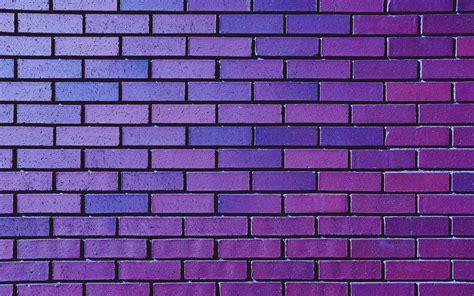Download Wallpaper 2560x1600 Wall Brick Purple Texture