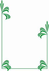 Leaf Border Clipart - Clipart Suggest