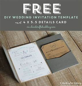 Free printable wedding invitation template free for E wedding invitation video free