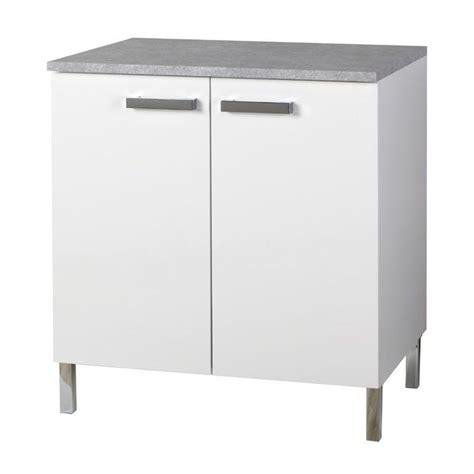 meuble blanc cuisine pas cher cuisine en image