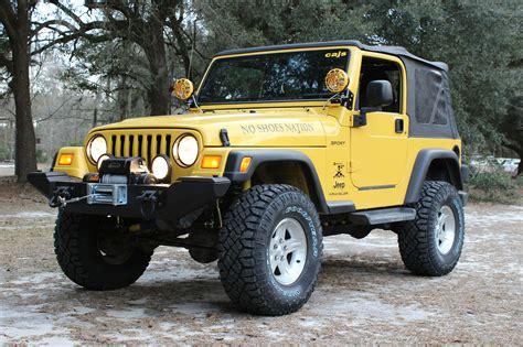No Shoes Nation Jeep Build. Trevor King '04 Tj Wrangler