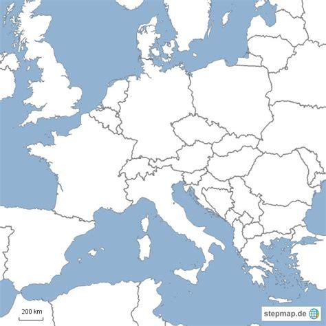 geburtstagskarte schwarz weiß landkarte europa schwarz wei