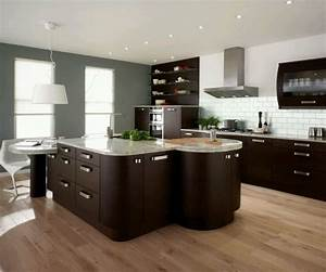 Modern home kitchen cabinet designs ideas new home designs for Modern kitchen cabinet