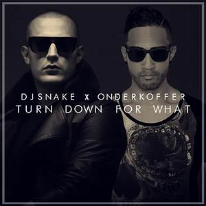 DJ Snake & Lil Jon - Turn Down For What (Onderkoffer Remix ...