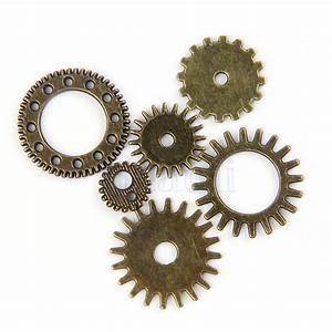 20pcs Bronze Watch Parts Steampunk Cyberpunnk Cogs Gears