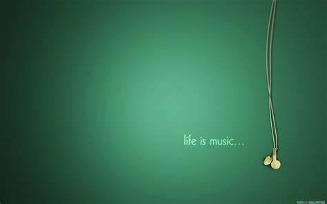 Life Is Music Wallpaper Background #4023 Wallpaper