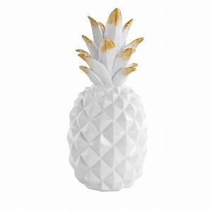 Ananas Deco Blanc : ananas d co blancheporte ~ Teatrodelosmanantiales.com Idées de Décoration