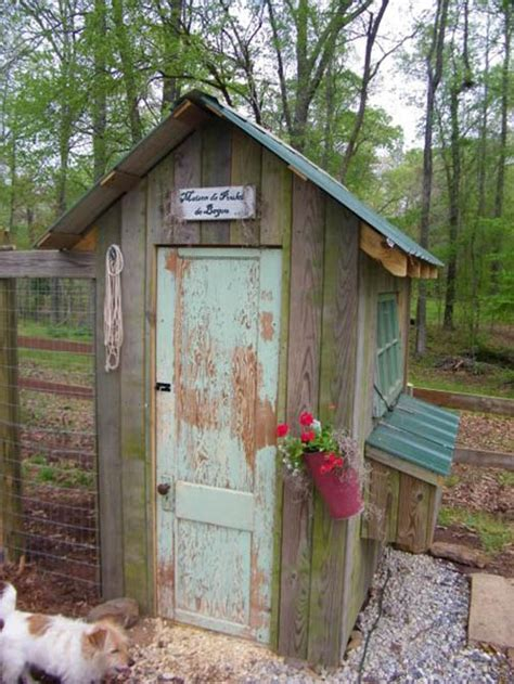 ridiculously cute chicken houses  built lol