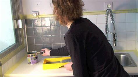 peinture carrelage cuisine peindre carrelage avec les peintures julien