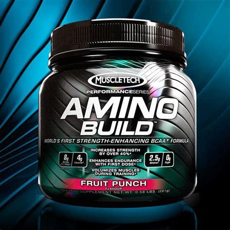 Amazon.com: Muscletech Amino Build, Fruit Punch, 30