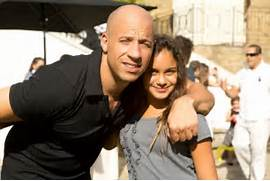 vin diesel and god dau...