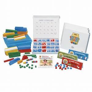 quantity With unifix letter cubes
