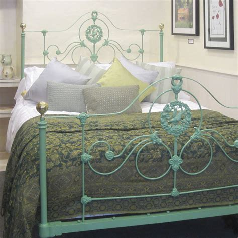 cast iron headboard cast iron antique bed at 1stdibs