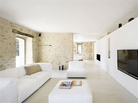 livingroom club home renovation in treia italy by wespi de meuron architects