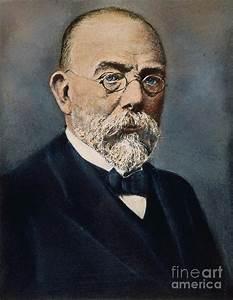 Robert Koch (1843-1910) Photograph by Granger