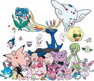 fairy type pokemon list images