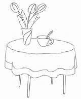 Furniture Coloring Getdrawings Coloringtop sketch template