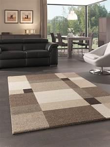 davausnet tapis salon beige taupe avec des idees With tapis shaggy avec canapé beige taupe