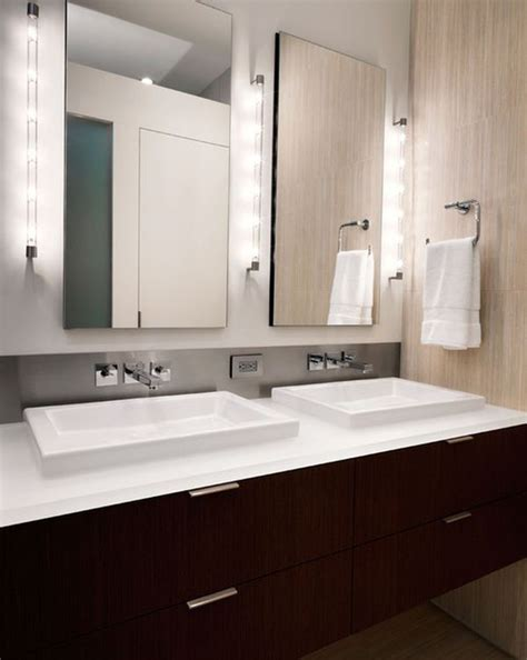 contemporary led bathroom decor ideas led bathroom