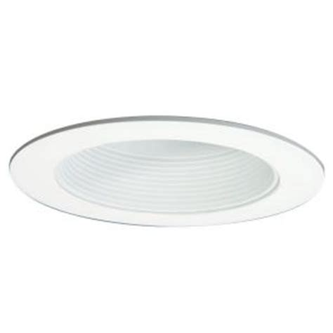 halo 6 in white baffle trim with solite regressed lens