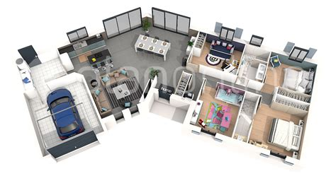 plan de chambre 3d plan de maison 3d pictures to pin on pinsdaddy