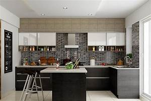 l, shaped, modular, kitchen, designs, for, indian, homes