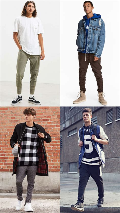 How Wear Joggers Without Looking Sloppy Fashionbeans