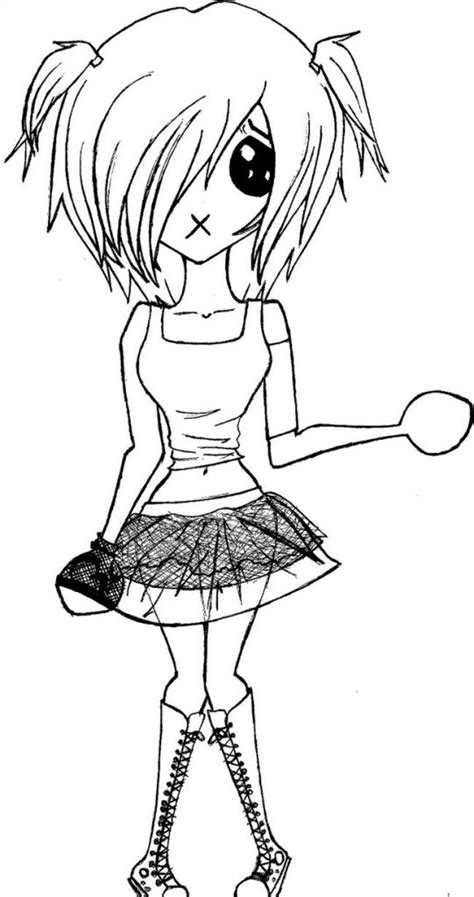 printable emo coloring pages  kids  coloring pages  kids