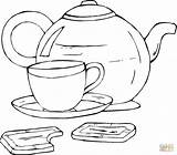 Coloring Cup Tea Teapot Printable Tampa Bay Buccaneers Chocolate Lightning Template Cups Cookies Coloringpages101 Desserts Colouring Mother Getcolorings Fruits Bucs sketch template