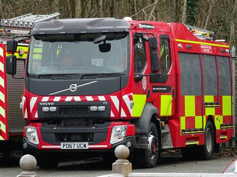 north wales fire  rescue volvo fflemergency  pumpin