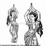 Belly Coloring Pages Traditional Suit Visit Dancer sketch template