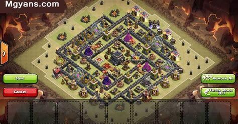 top  strongest  war base designs clash  clans
