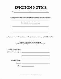 blank eviction notice example mughals With free eviction notice template texas