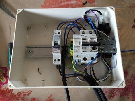 branchement du tableau electrique pour la piscine et pour les options spas construction d une
