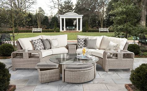 patio furniture showroom outdoor seating dining