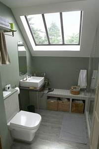 Decoration De Salle De Bain : petite salle de bain 34 photos id es inspirations ~ Teatrodelosmanantiales.com Idées de Décoration