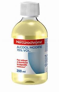 Alcool à 90 Degrés : alcool modifi 70 vol mercurochrome ~ Dailycaller-alerts.com Idées de Décoration